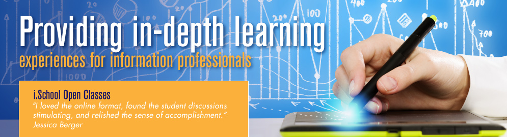 SJSU iSchool Open Classes empower current professionals to reach for more.